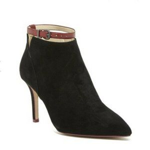 Charly Amar Letty Ankle Strap Heel Bootie Size 9